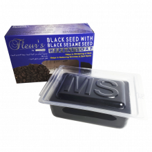 Мыло с маслами семян черного тмина и кунжута Hemani