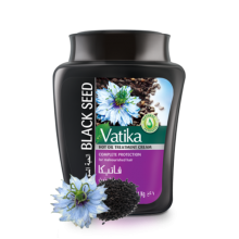 Маска для волос dabur vatika treatment cream-black seed (восстанавливающая)