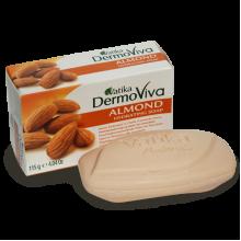 Натуральное увлажняющее мыло «DermoViva Almond» с миндалем
