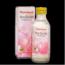 "Розовая вода ""Arq Gulab"" из свежих лепестков роз для кожи лица"