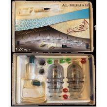 Банки для хиджамы Al-Mehjam 12 банок